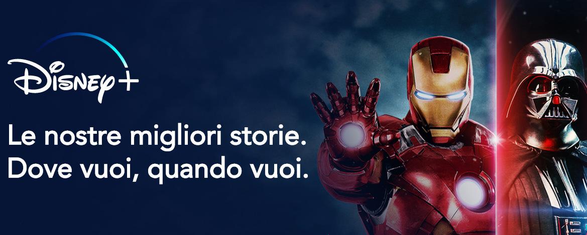 Disney+ sbarca in Italia