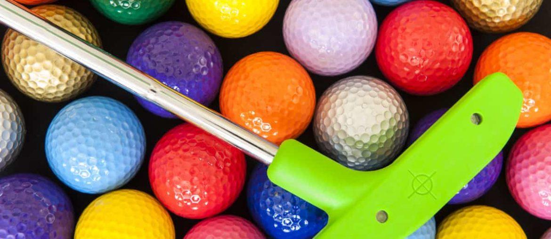 mini golf in london