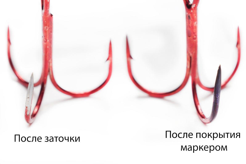 Проверка крючков на остроту