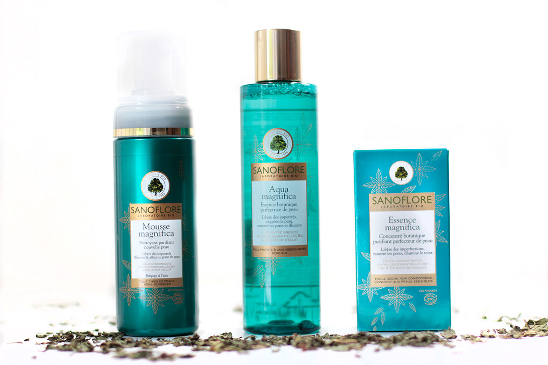 Sanoflore Gamme Magnifica: mousse nettoyante, lotion et serum