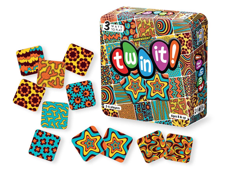 Twin it jeu de société boîte et cartes