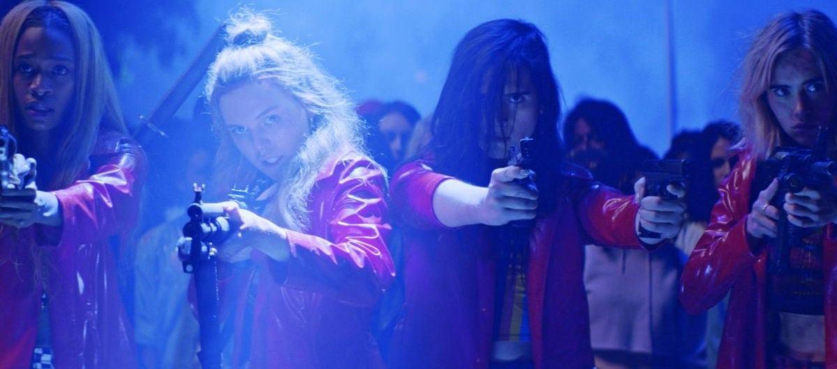 Les filles armées dans Assassination Nation