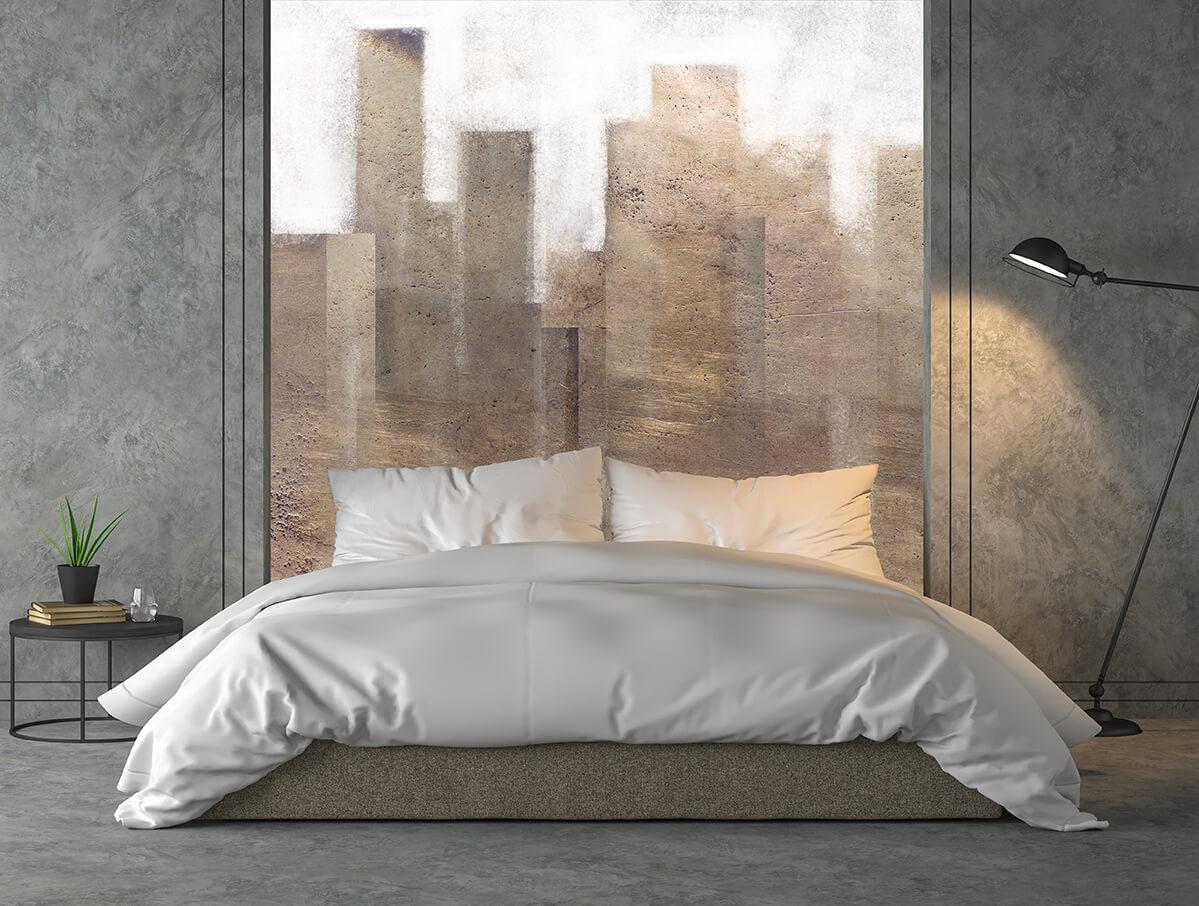 tapeta w sypialni - modne aranżacje wnętrz