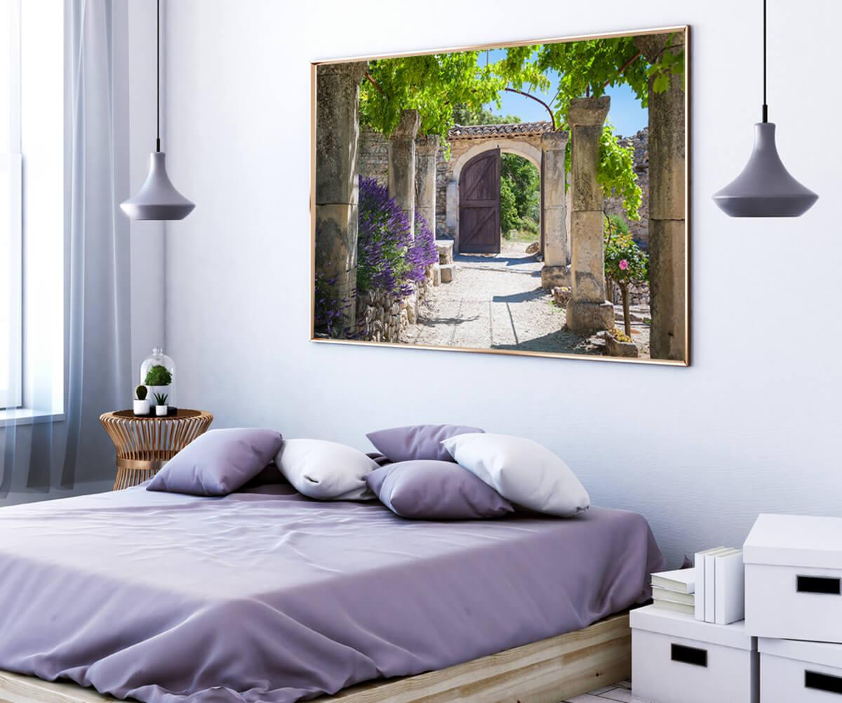 obrazy na ścianę Francja Lawenda