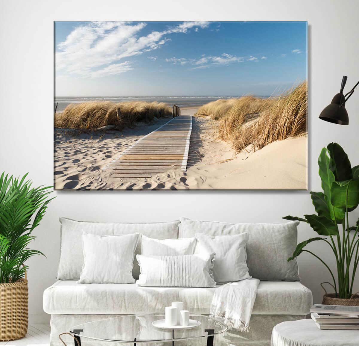 Morze bałtyckie - obrazy do salonu