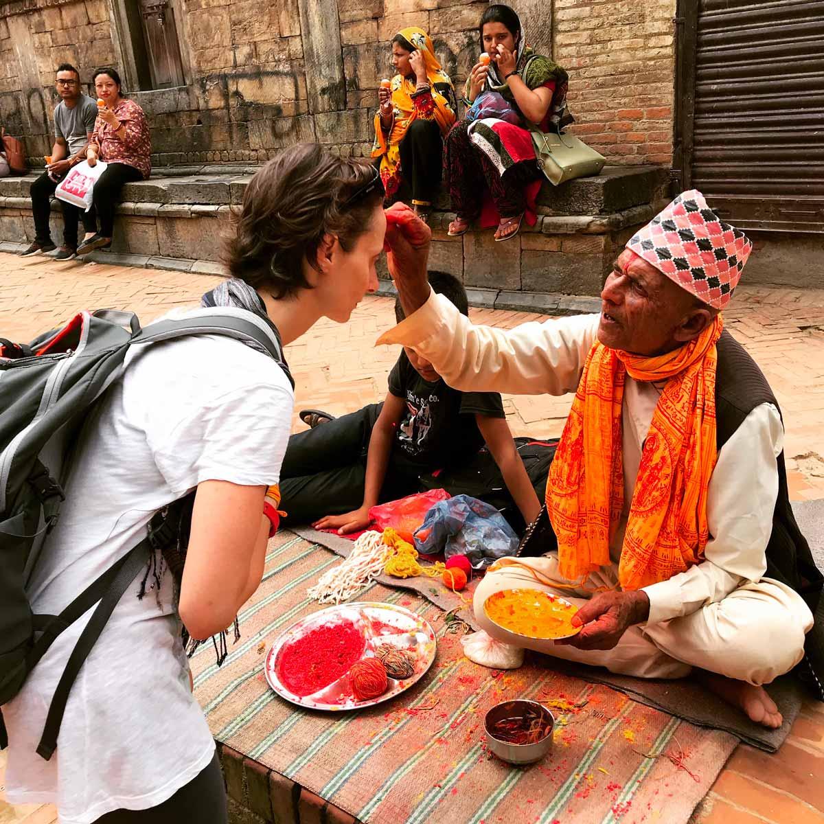 Elimeli blog di viaggi al festival Janai Purnima di Patan, Nepal