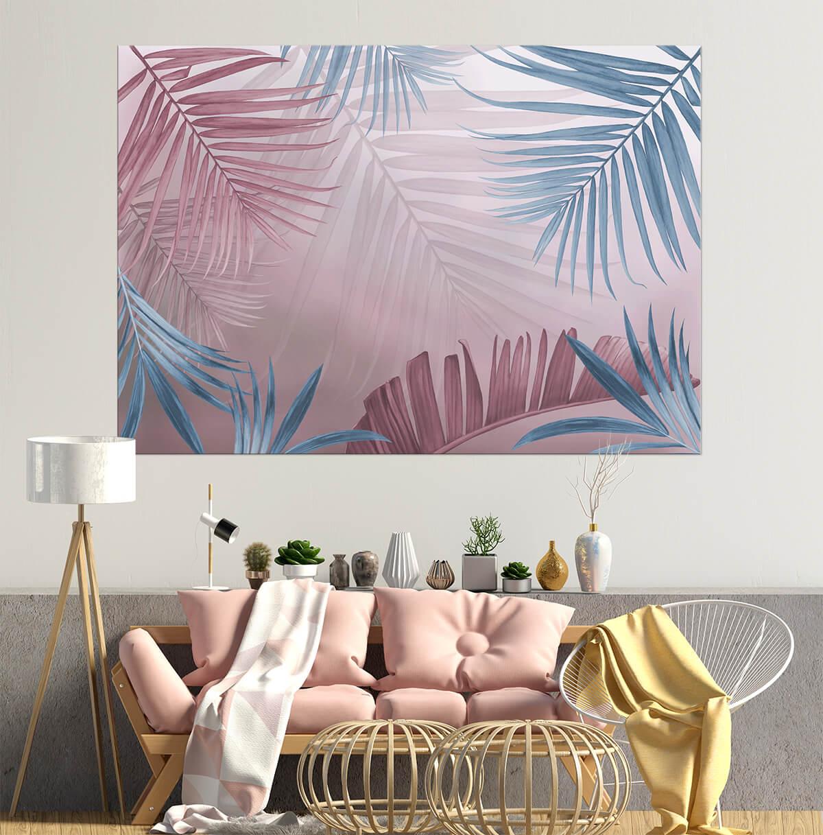 nastrojowy salon - artystyczne obrazy na ścianę