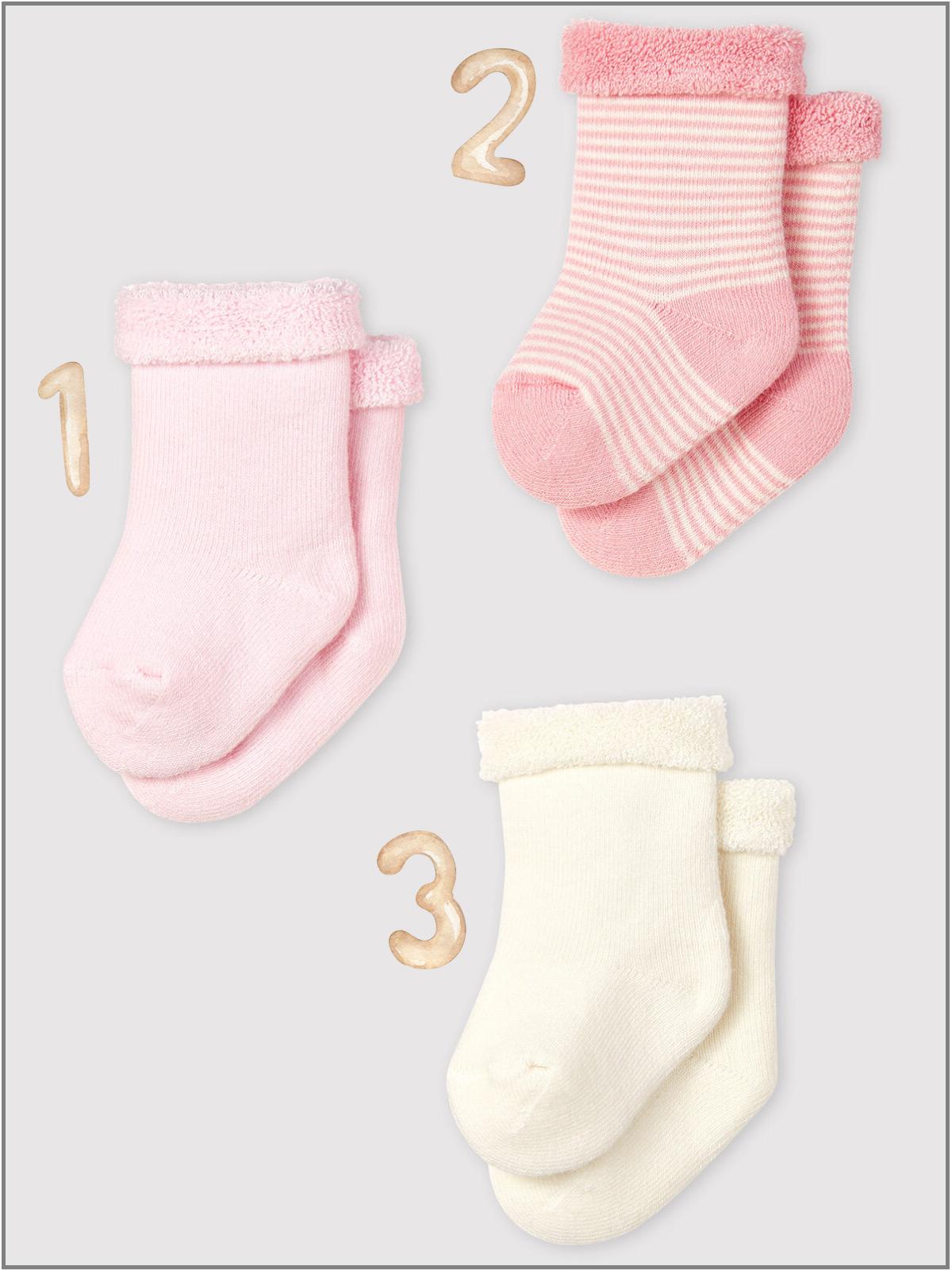 frederickandsophie-kids-soft-wear-petitbateau-france-newborn-baby-socks-organic-pink
