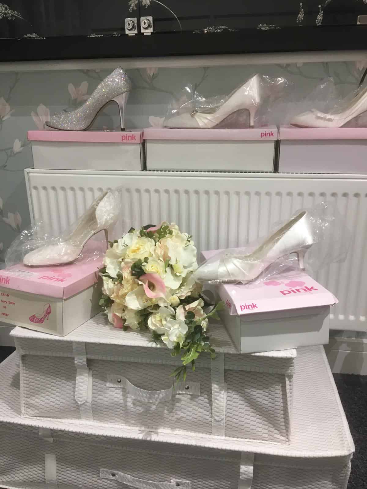 Shoes at Magnolia Bridal Designs