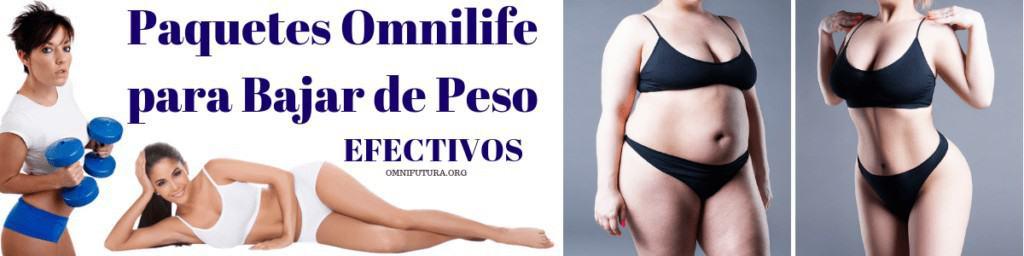 PAQUETES OMNILIFE PARA BAJAR DE PESO