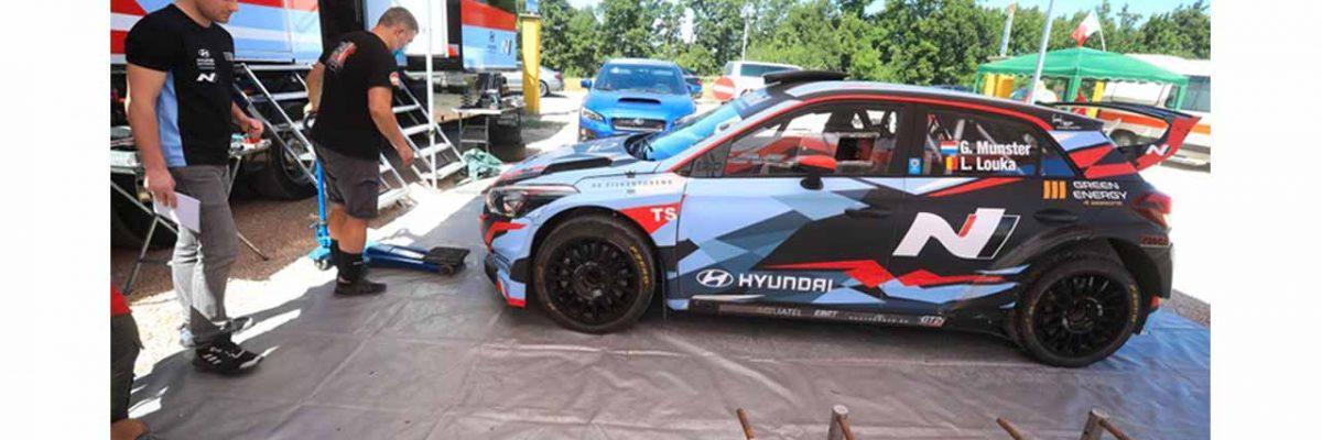 Gregoire Munster - Hyundai i20 R5 - 2020