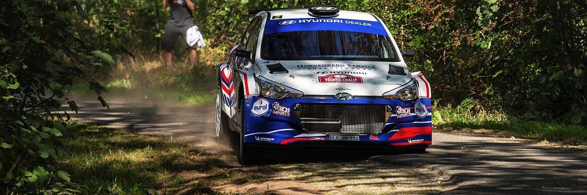 Bob de Jong & Bjorn Degandt - Hyundai i20 R5 - Vechtdalrally 2020
