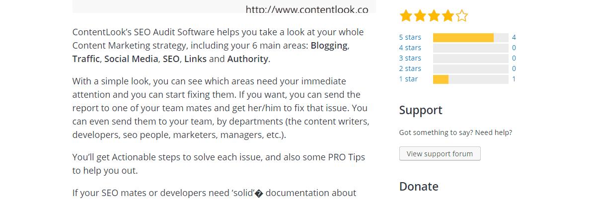 ContentLook - Best Seo Audit Tool