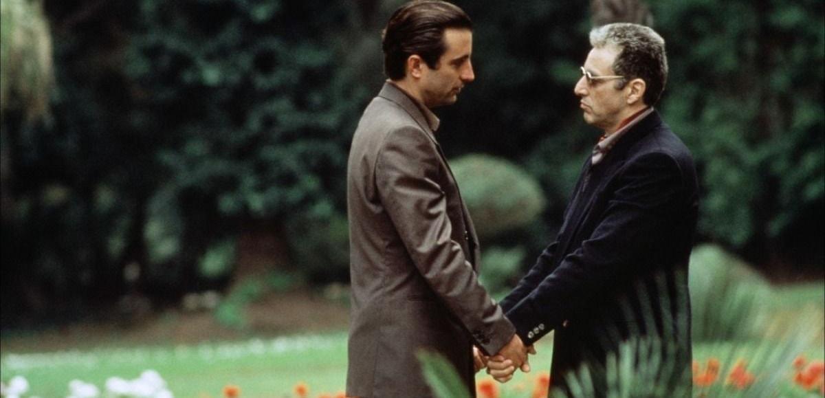 Al Pacino et Andy Garcia dans Le Parrain Part 3