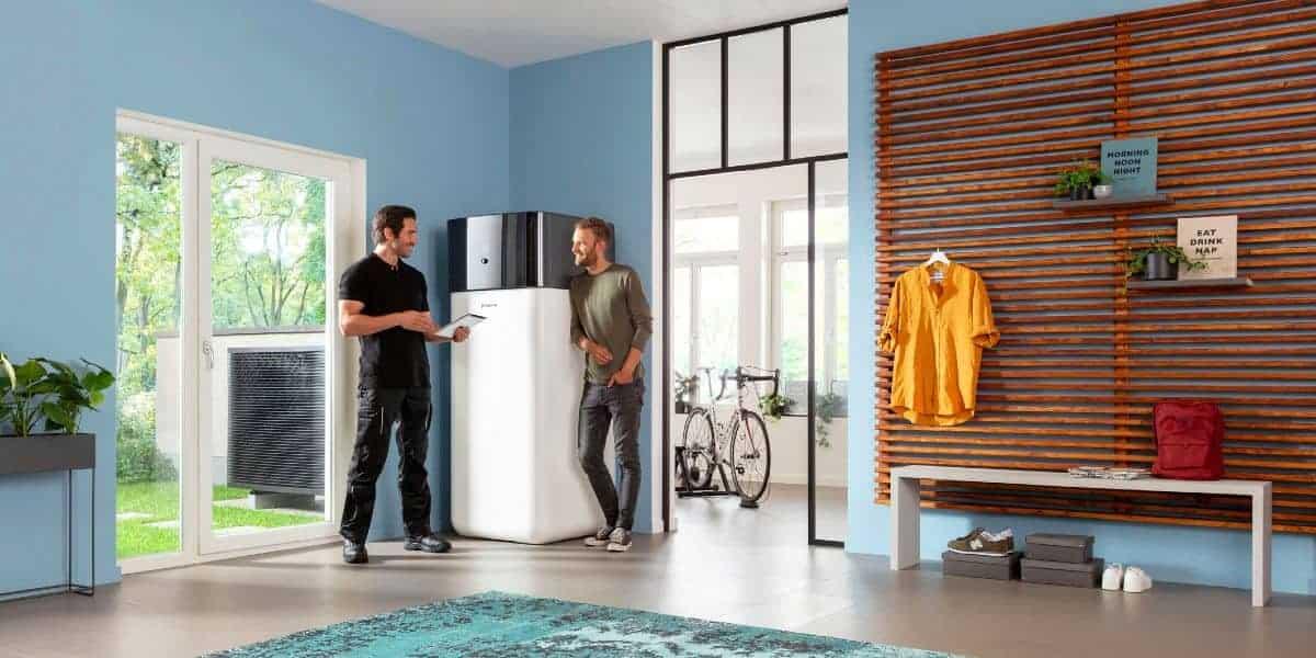 Wärmepumpe im modernen Eigenheim