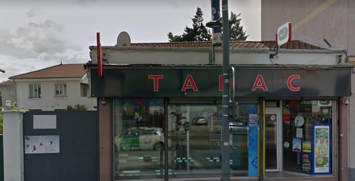 Le Tabac/Presse de la ville de Bron (69) où la grille gagnante a été cochée