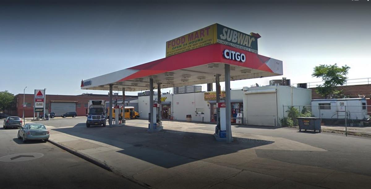 Arnold's Service Station, la station essence où la grille gagnante a été jouée