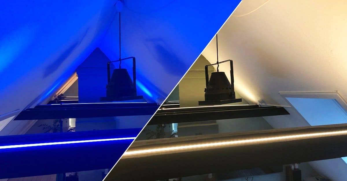 LED Belysning på spær eller handbånd | LEDHome.dk