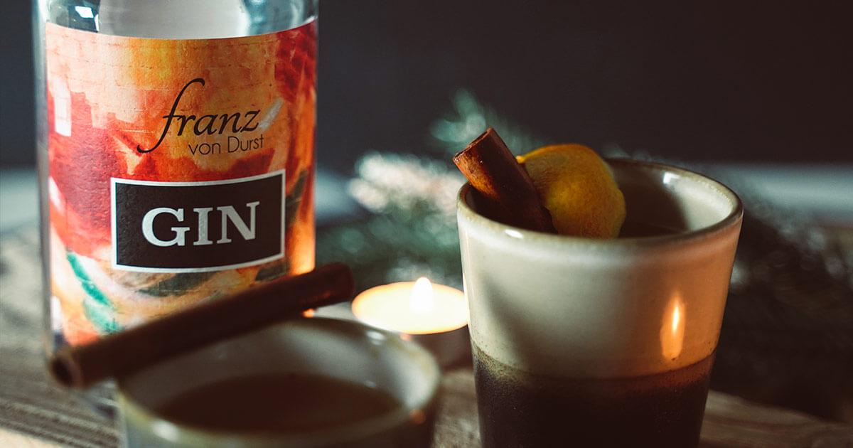 Franz von Durst Glüh Gin Rezept