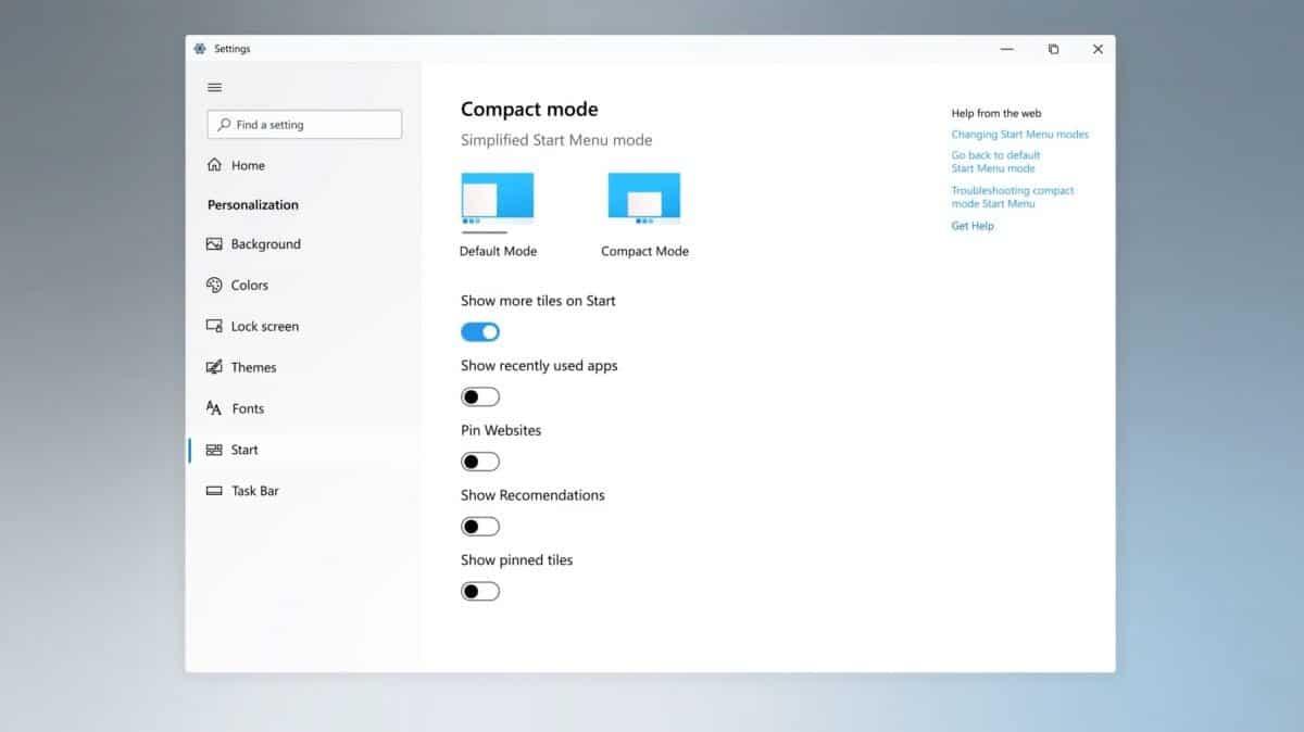 windows 10 novo imagens