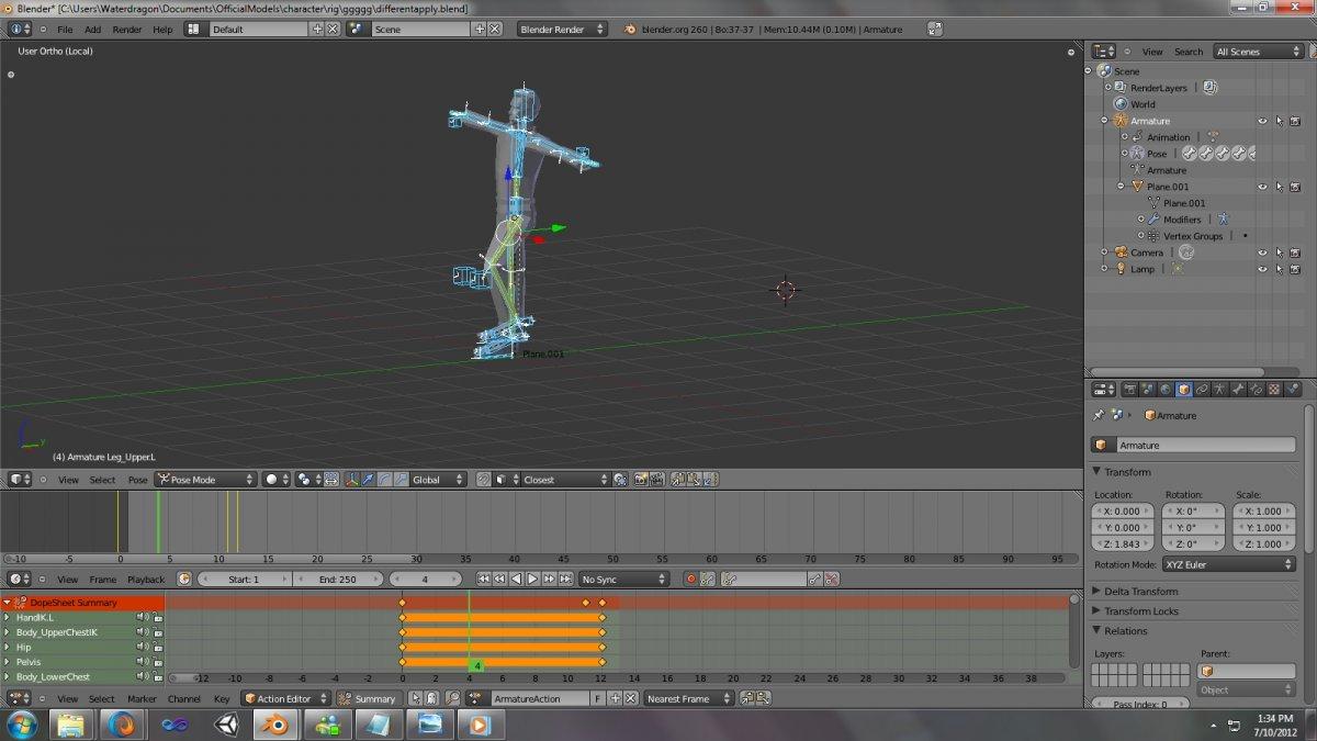 Blender обзор анимация