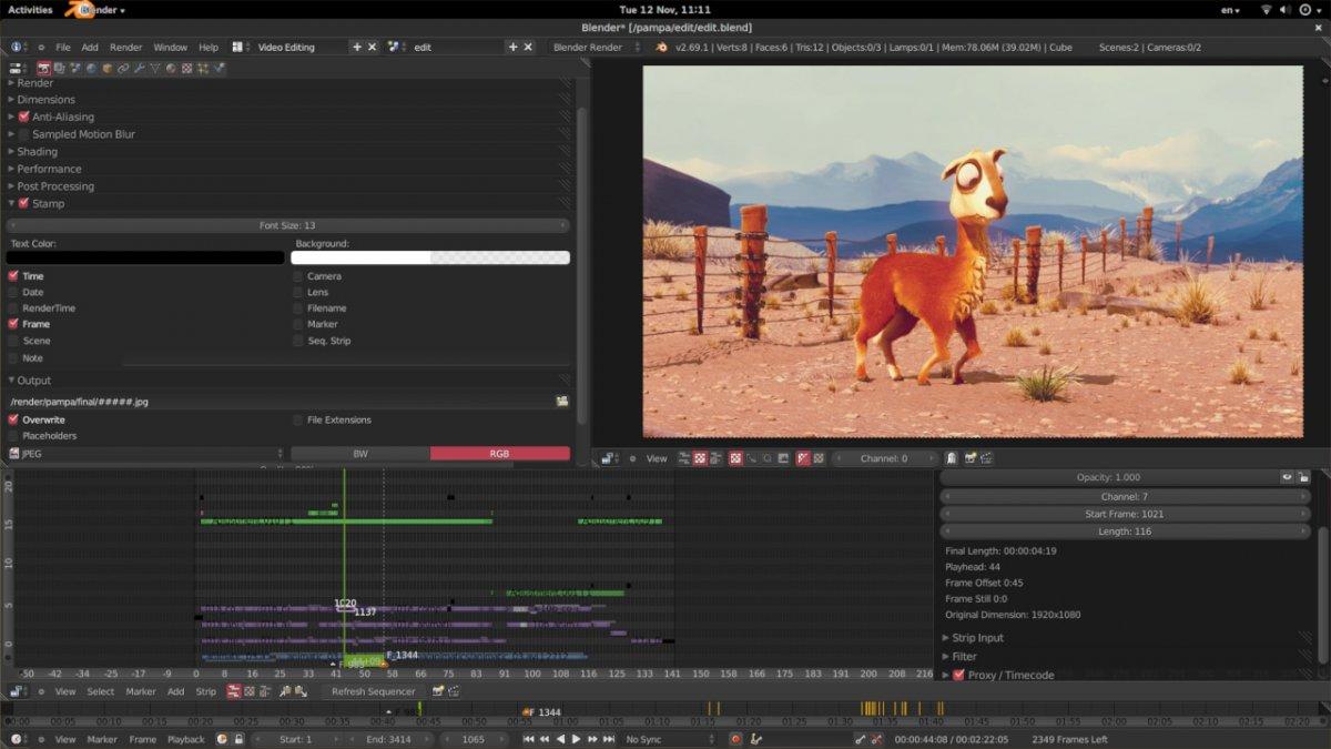 Blender обзор видеоредактор