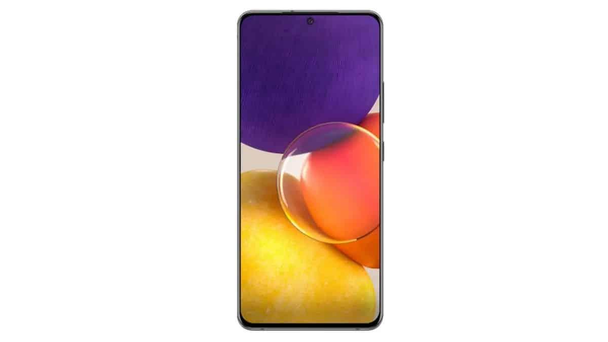Samsung Galaxy A82 rotativa