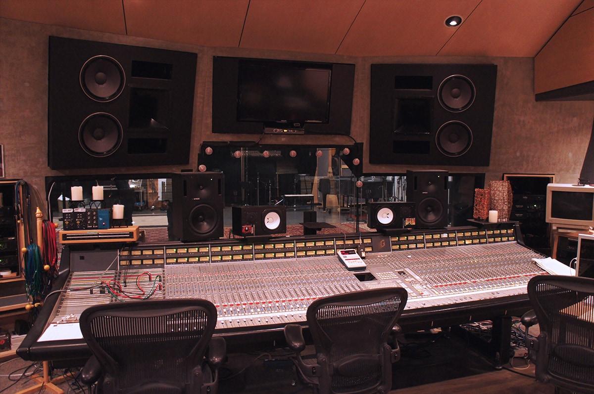 In-Wall Hifi Studio Monitors at Studio X