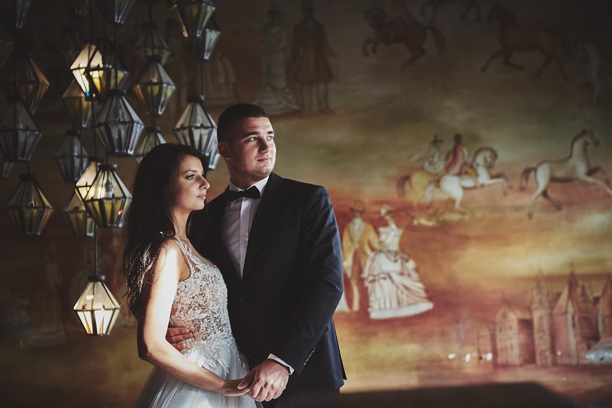 Plener ślubny na zamku w Mosznej 52