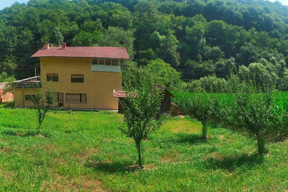 большой дом в Мали Зворнике
