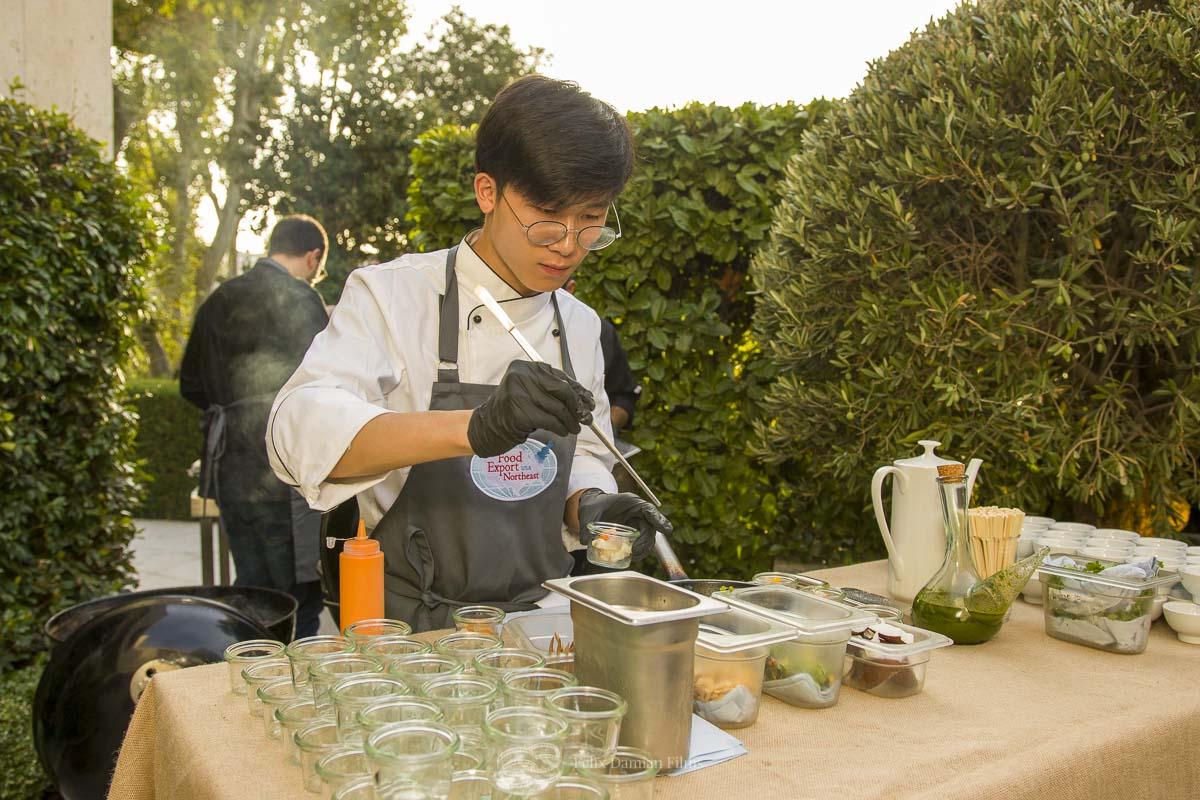 cocinero evento