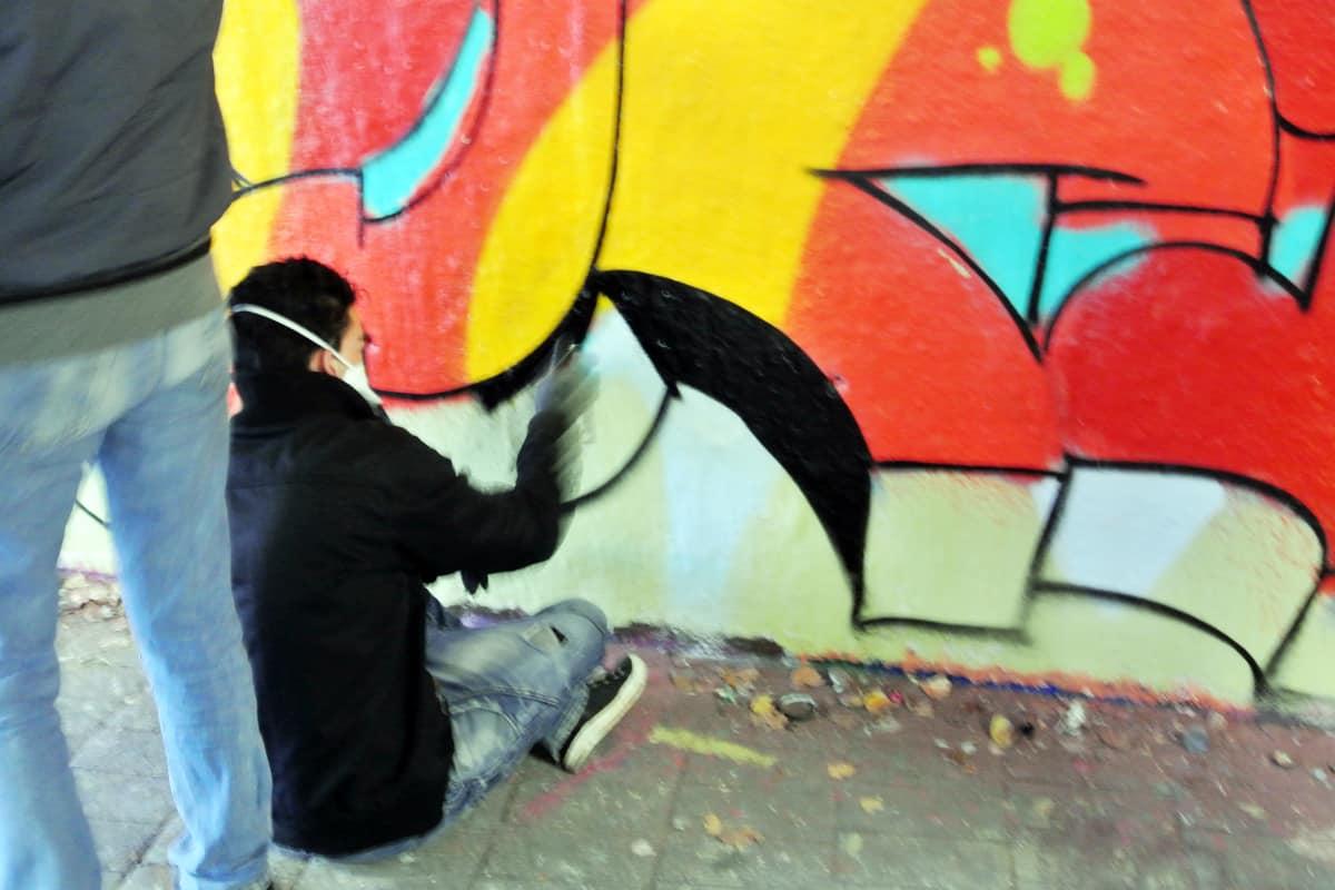Graffiti-Stuttgart.de hat in Zusammenarbeit mit Agnes von der Landesvereinigung Kulturelle Jugendbildung (LKJ) Baden-Württemberg e.V., Büro FSJ Kultur einen coolen Graffiti-Event organisiert.