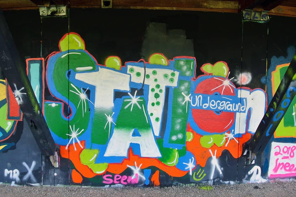 Der Graffiti Workshop Stuttgart Sommerferien 2018 #2 war wieder ein kreativeres Wochenende! Zusammen haben wir geplant,gezeichnet und gesprüht.