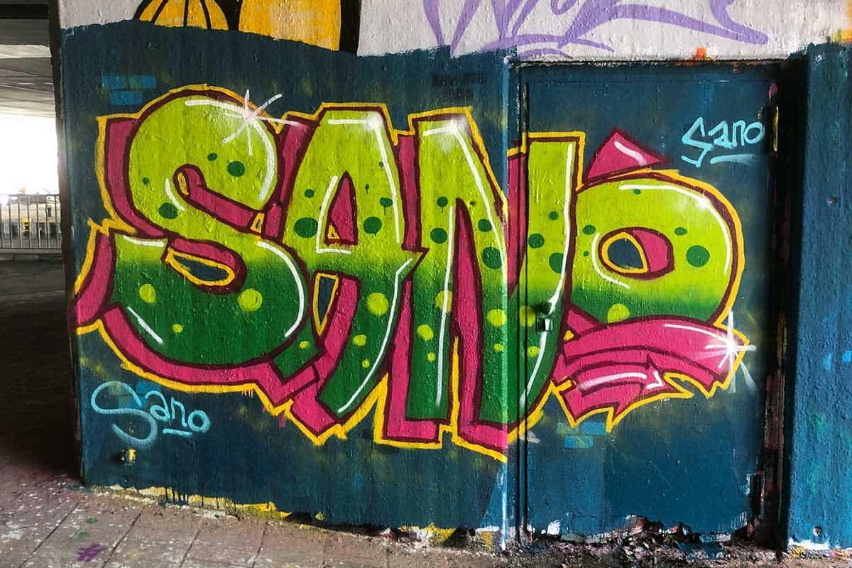 Der Graffiti Workshop Stuttgart Faschingsferien 2020 war wieder ein kreativeres Wochenende! Zusammen haben wir geplant,gezeichnet und gesprüht.