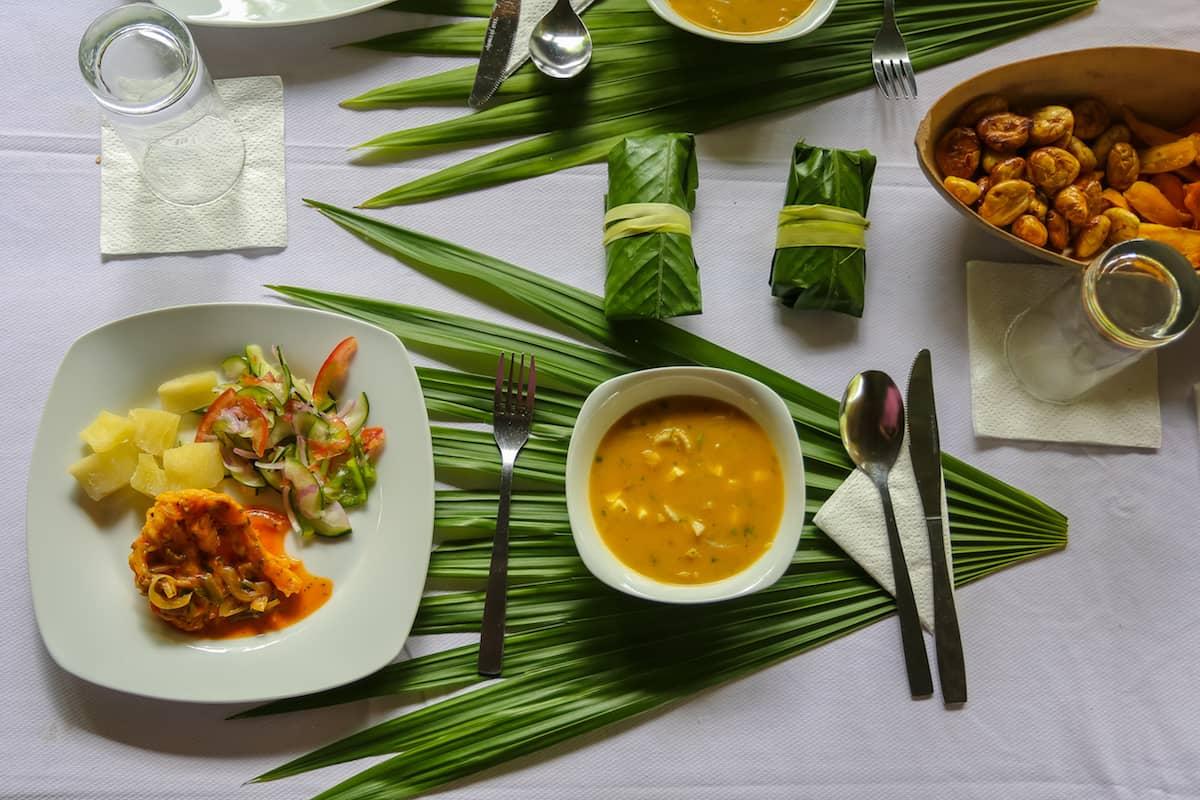 Traditional Food - Mandaripanga Yasuni Jungle Expedition - Glamping in Yasuni National Park