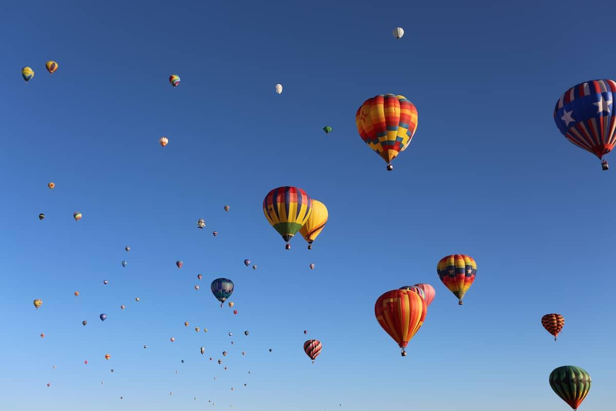 festival de globos aerostáticos más grande del mundo en Alburquerque