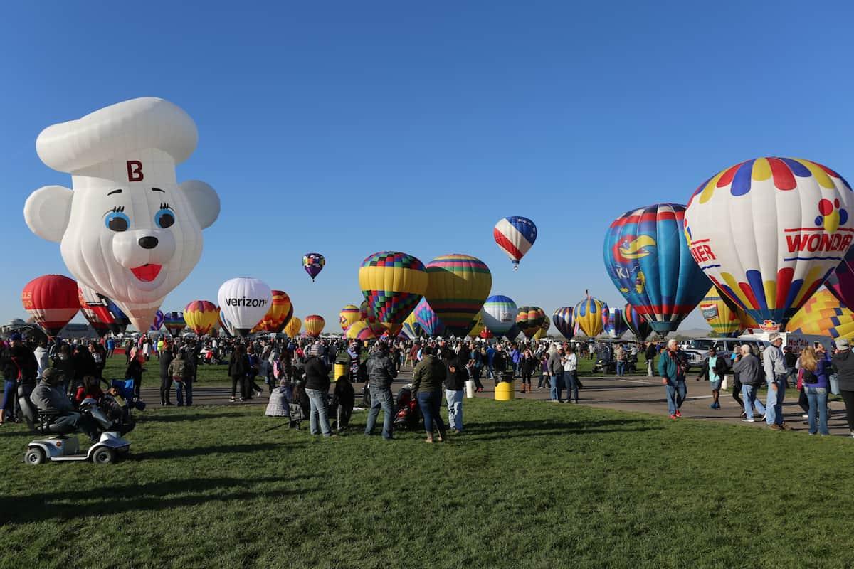 festival de globos aerostáticos de Albuquerque Bimbo