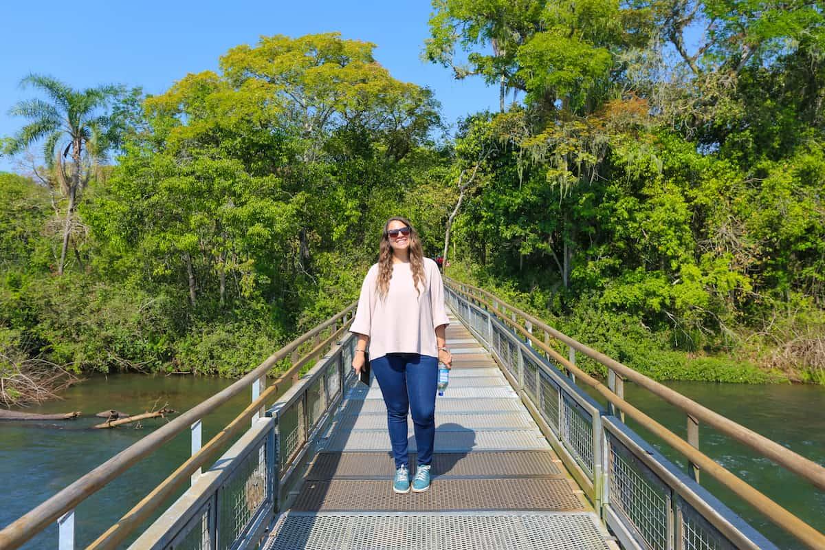 Lower Circuit path Iguazu Falls