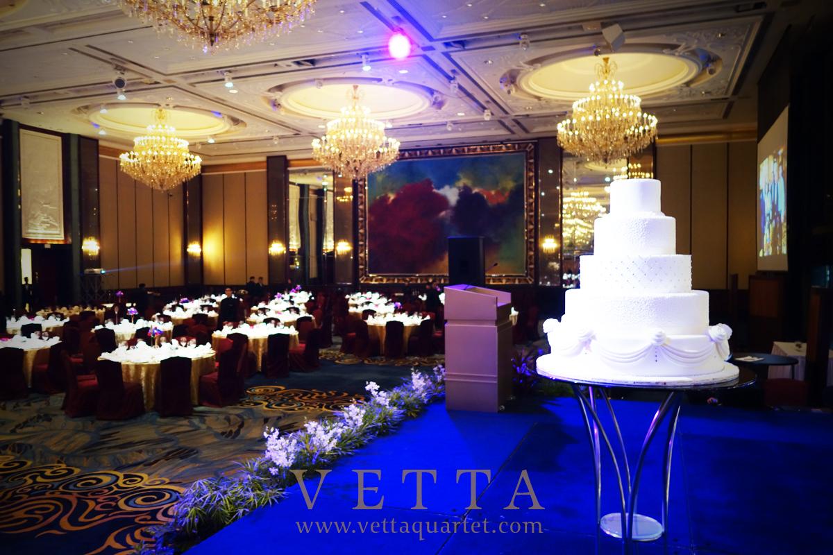 2015-10-18 Esta Quartet for Singapore Wedding at Shangri-La Hotel