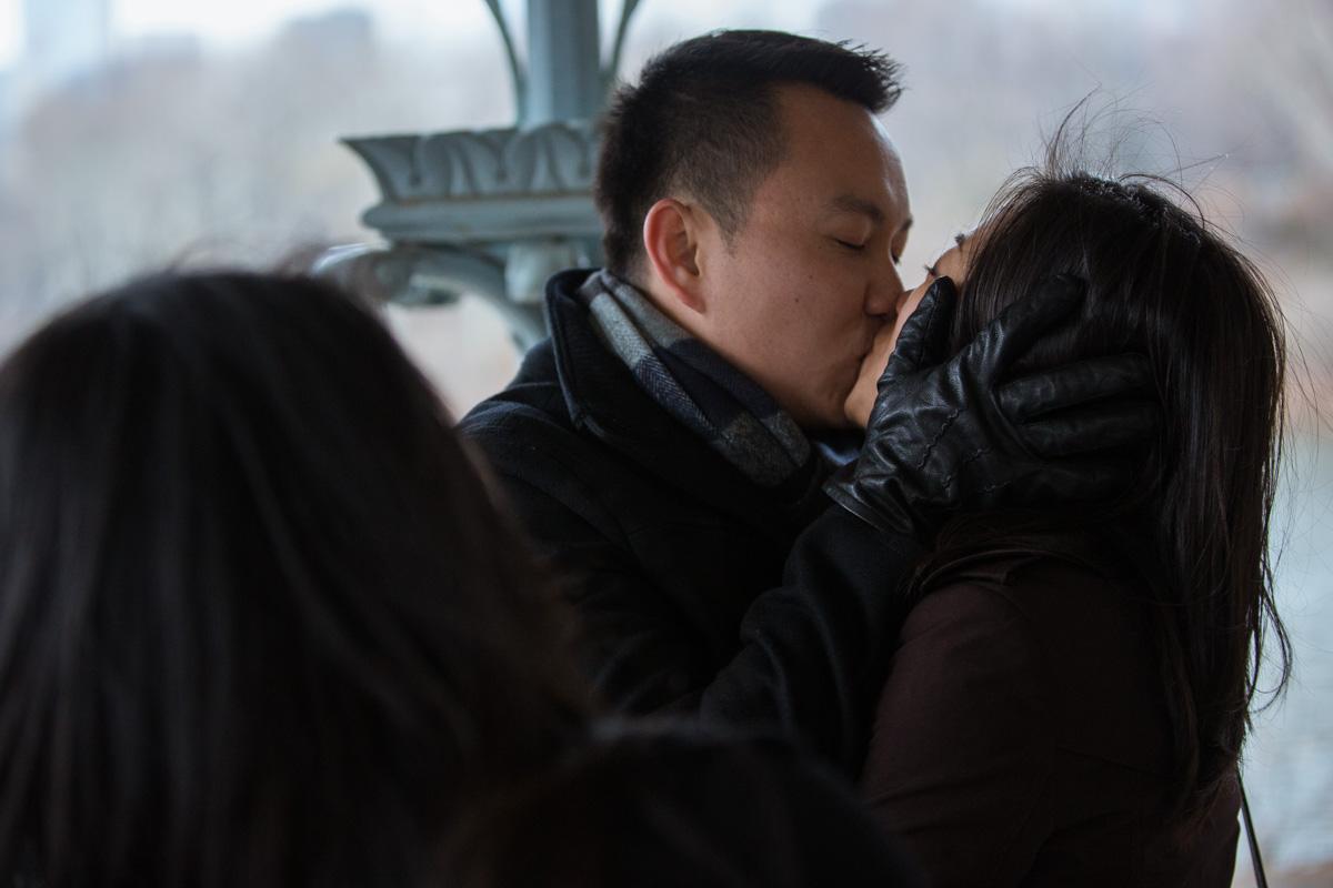 Photo 20 Surprise Proposal at Ladies Pavilion in Central Park | VladLeto
