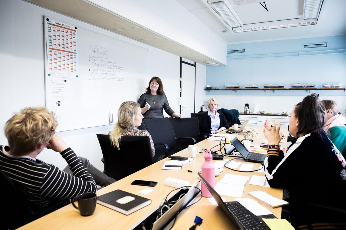 Yhteenveto IRM Tool hankkeen projektipäällikkö Rita Rauvolan johdolla. Käsittelyssä työkulttuuri ja sen rooli yrityksissä.
