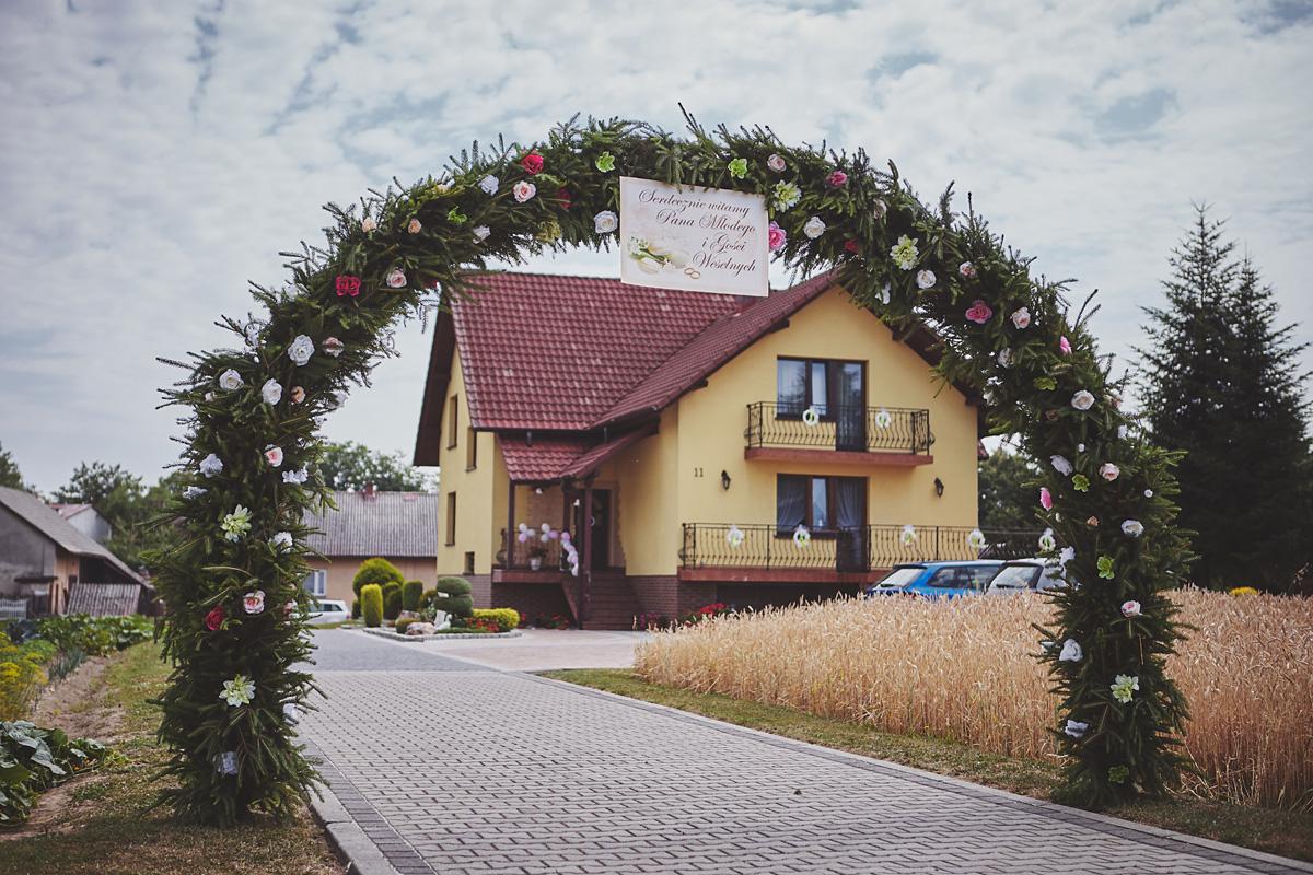 Skrót z reportażu ślubnego w Dworku Broniszówka 16