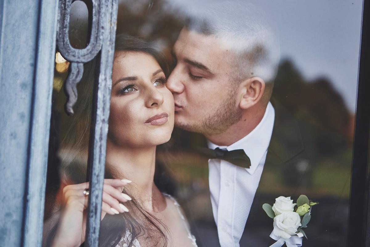 Plener ślubny na zamku w Mosznej 2