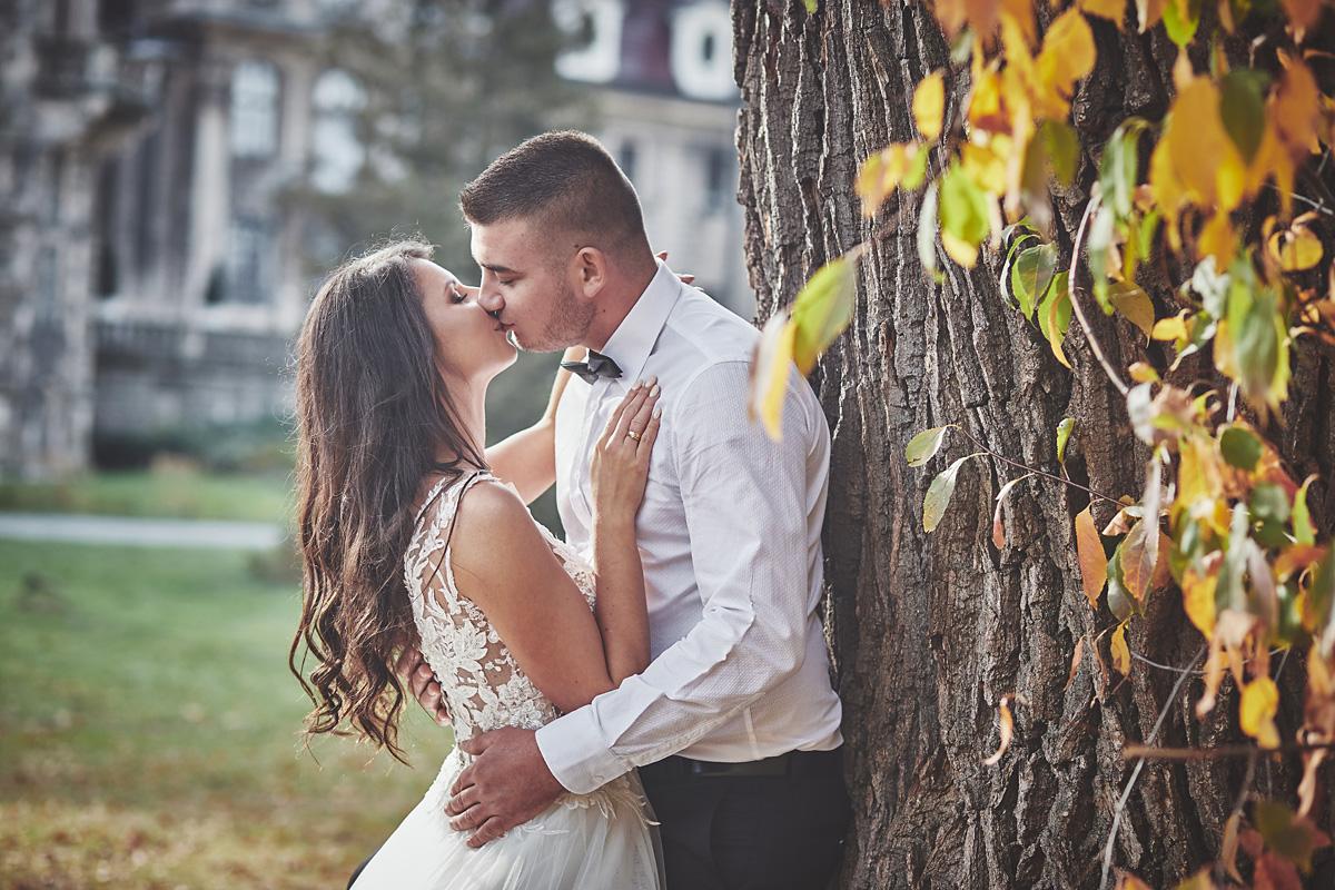 Plener ślubny na zamku w Mosznej 23