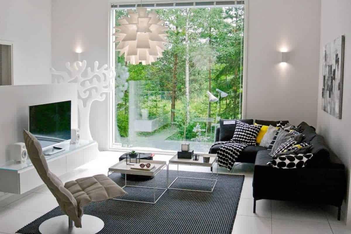 Wohnzimmer mit guter Luft