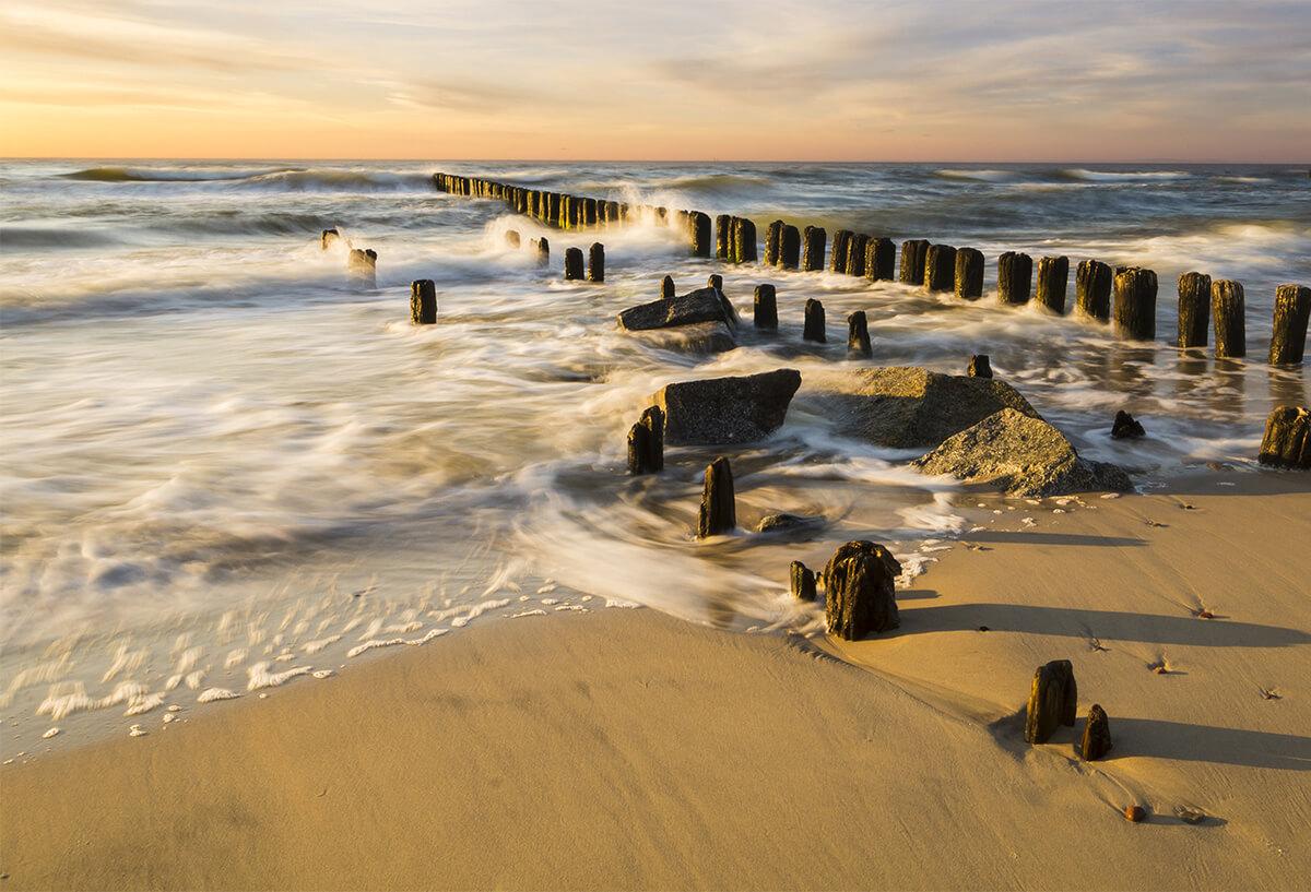 Piękno morza bałtyckiego - fototapeta z efektem 3D