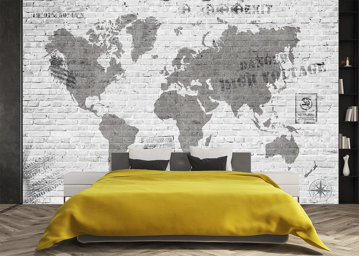 aranżacja sypialni w stylu industrialnym