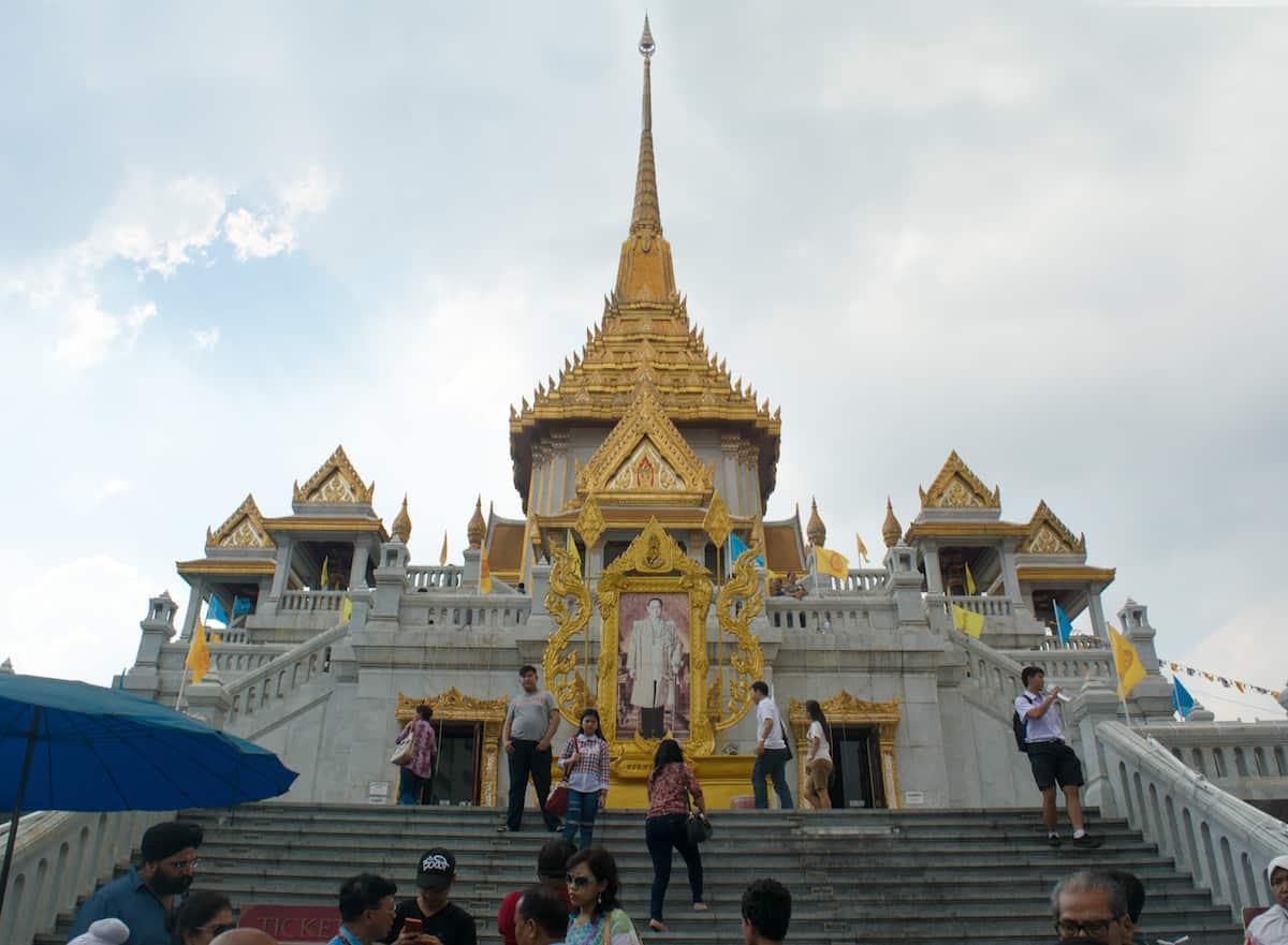 El Wat Traimit (Templo del Buda Dorado) - Cosas Que Hacer en Bangkok