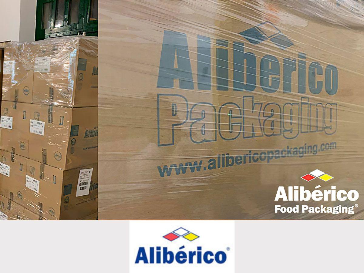 Alibérico Food Packaging hace una importante donación a Cáritas
