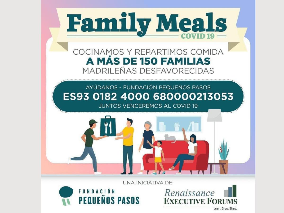 Sotocereo colabora en la iniciativa Family Meals recaudando fondos con los que elaborar menús para las familias más desfavorecidas